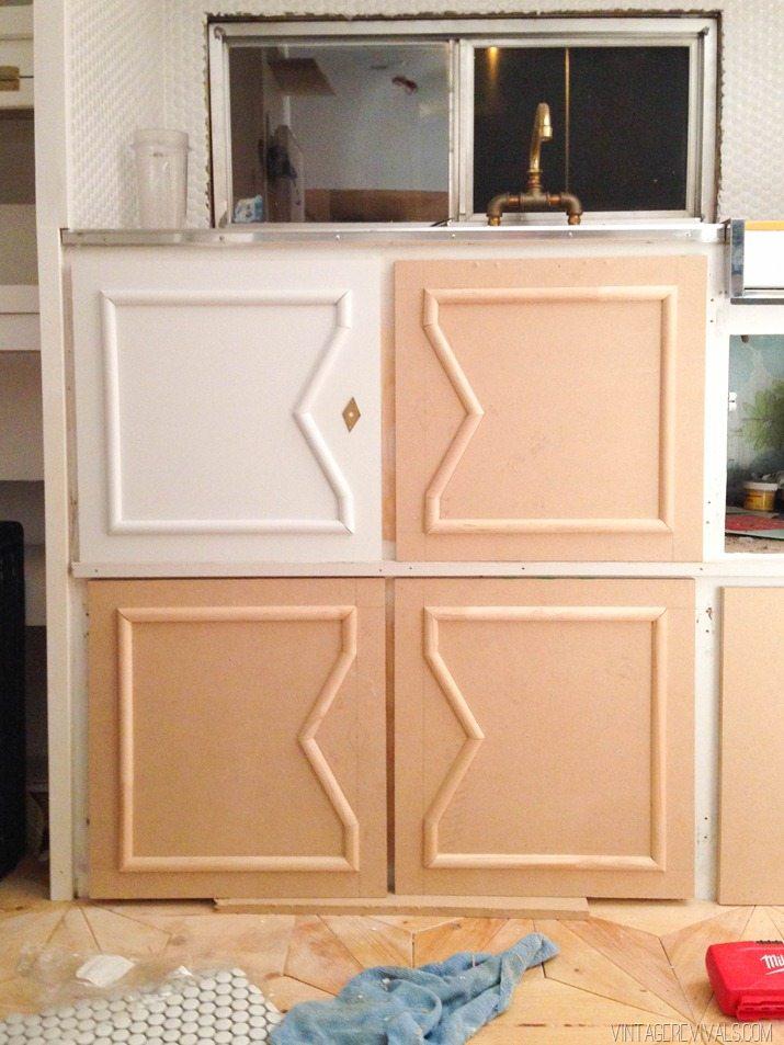 Great DIY Vintage Trailer Cabinets