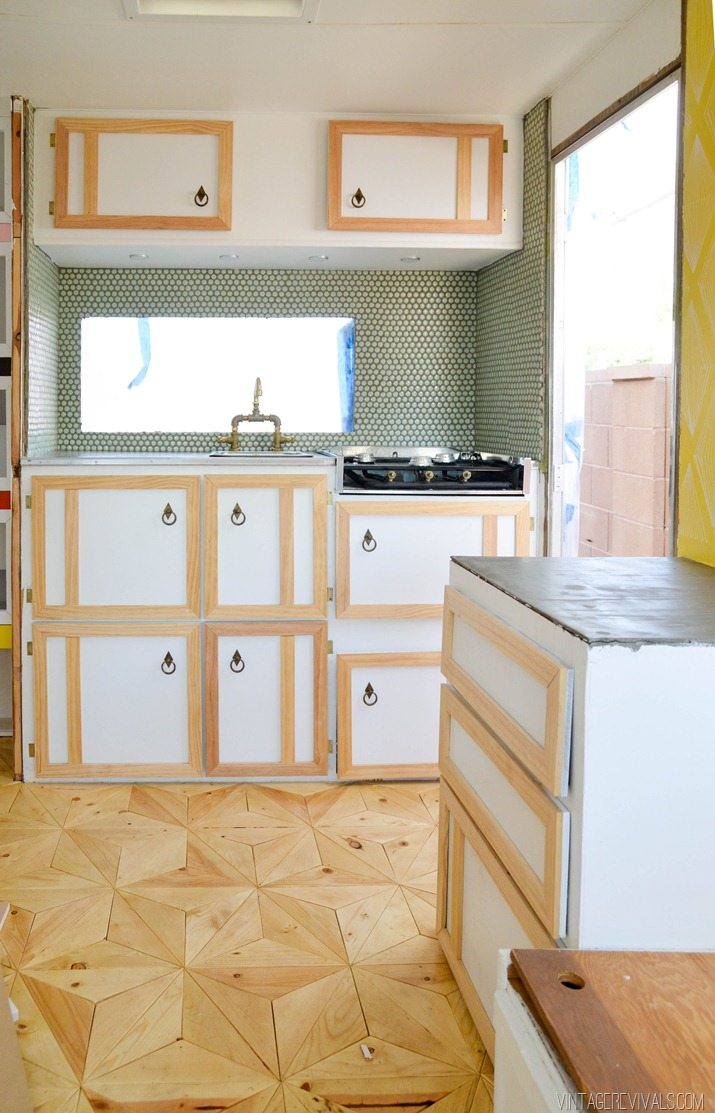 The Nugget: Building Cabinets (again!) - Vintage Revivals
