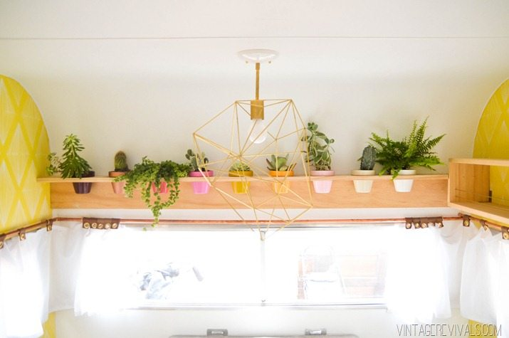 DIY Planter Shelf-12