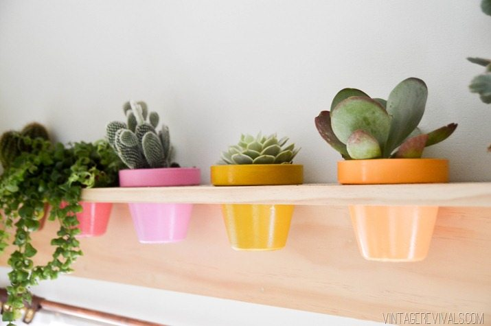 DIY Planter Shelf-7