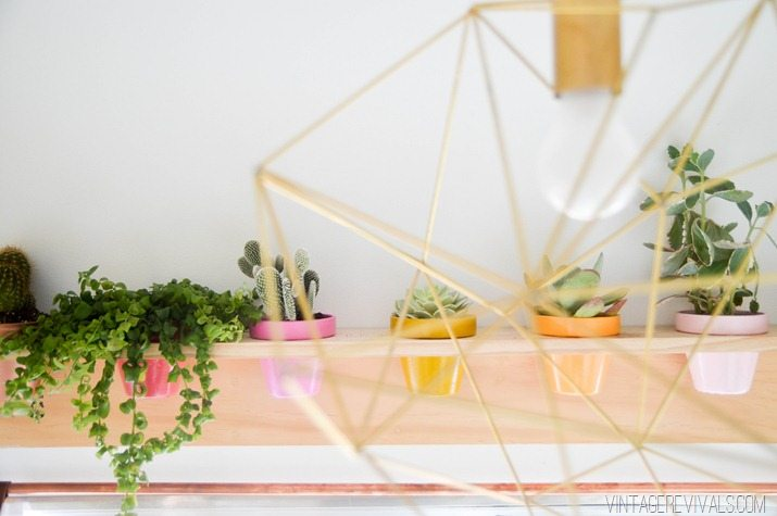 DIY Planter Shelf-9