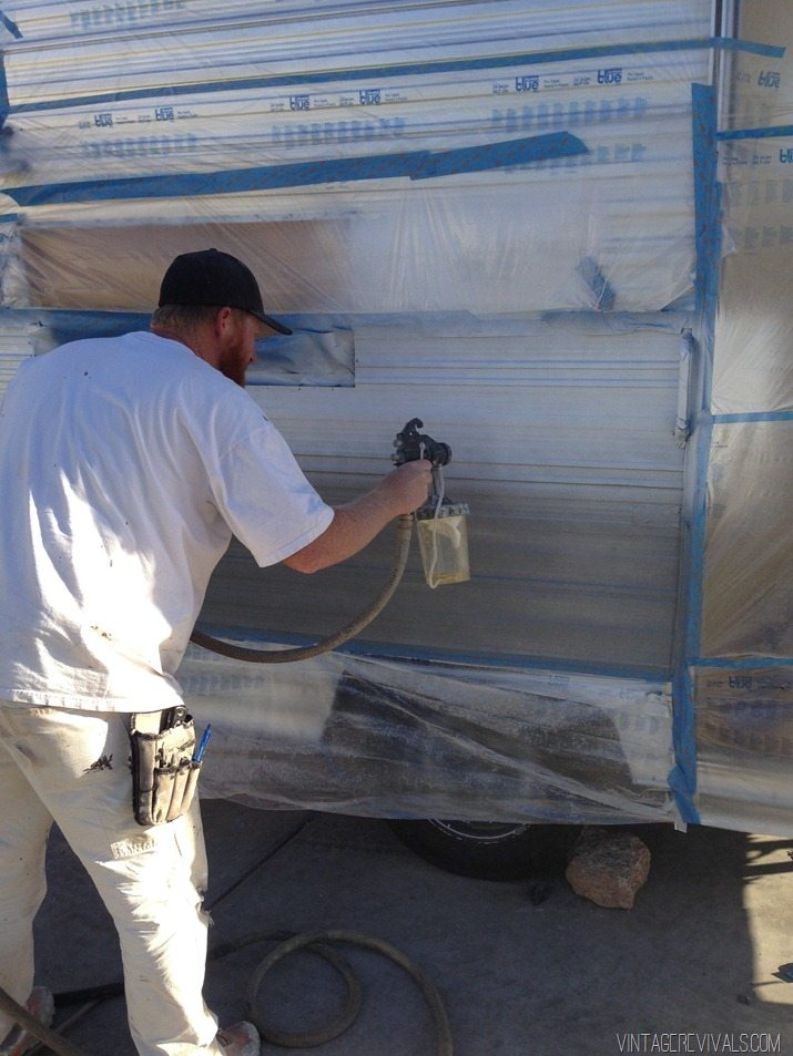 The Nugget How To Paint The Exterior Of A Trailer