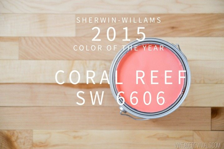 Sherwin-Williams Coral Reef Color of the Year 2015