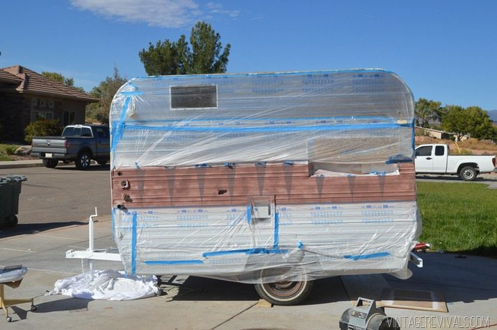 The Nugget: How To Paint the Exterior of a Trailer • Vintage