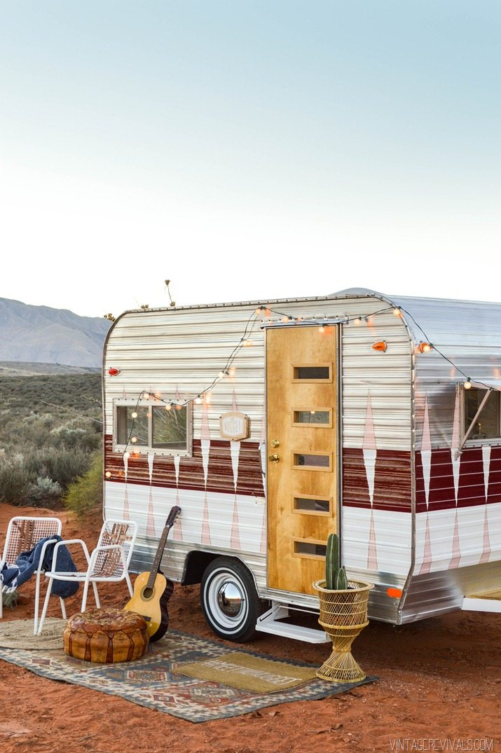 The Nugget Vintage Trailer Makeover Reveal O Revivals