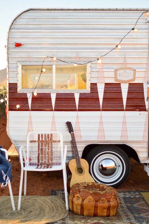 Vintage Trailer Renovation Makeover vintagerevivals.com-55