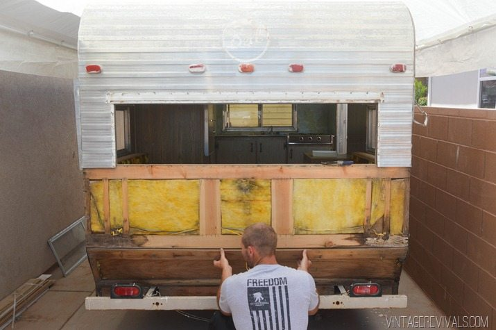 Vintage Trailer Renovation Vintagerevivals 10