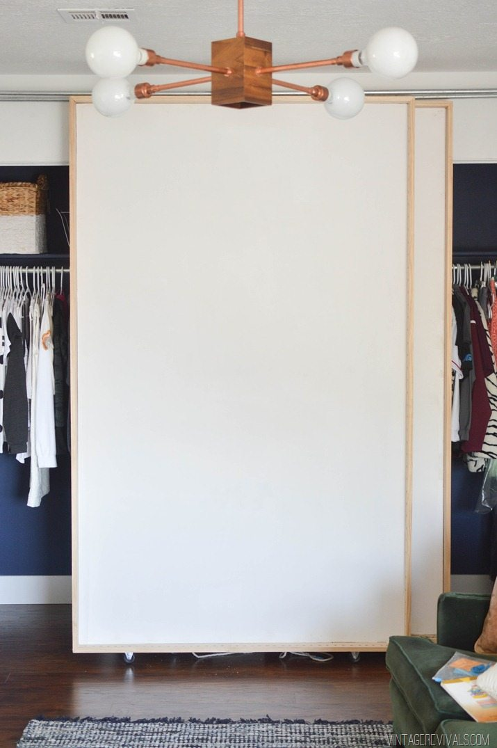 Picture of: Diy Bypass Barn Doors Part 1 Vintage Revivals