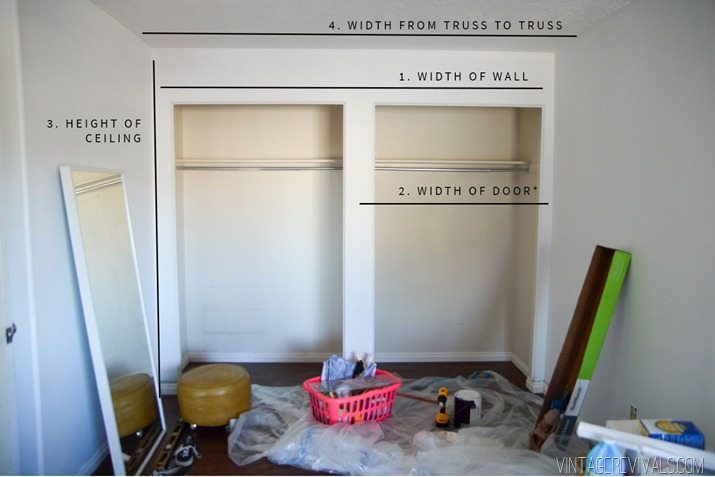 Diy Bypass Barn Doors Part 1 Vintage Revivals