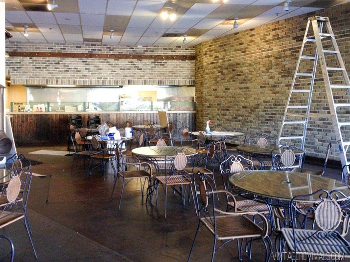 White Brick In Restaurant-2