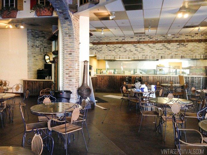 White Brick In Restaurant-3