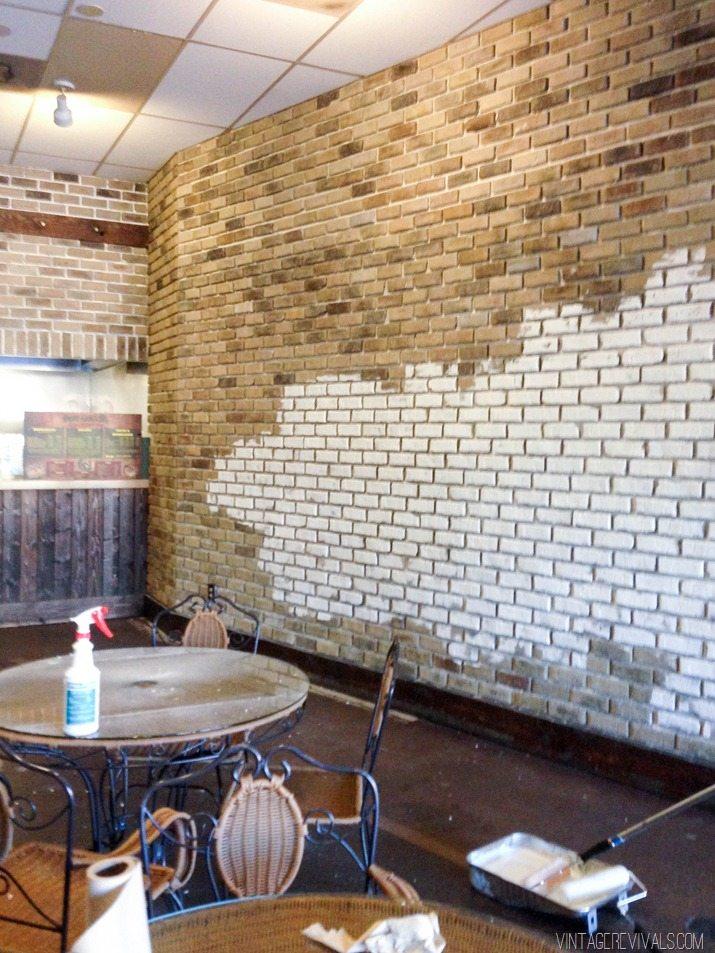 White Brick In Restaurant-8