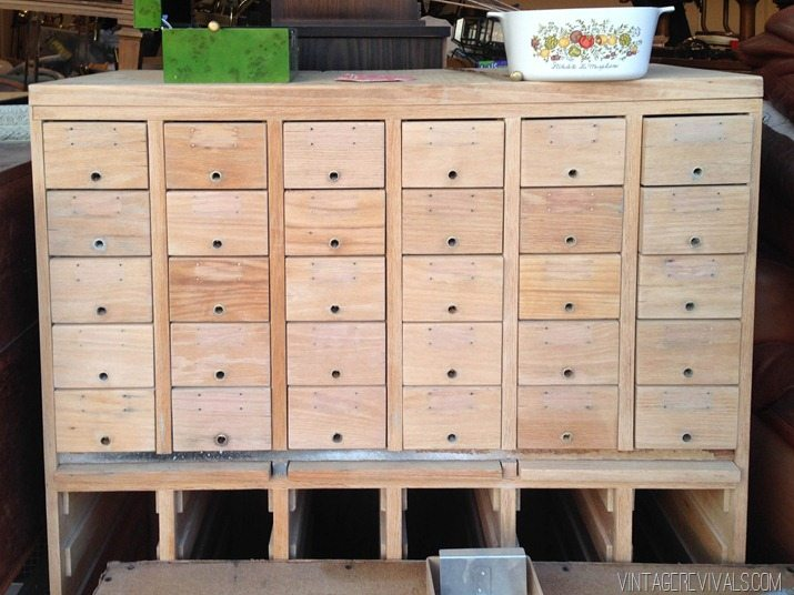 Rescuing A Craigslist Card Catalog • Vintage Revivals