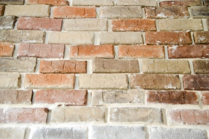 How to install brick veneer inside your home-9