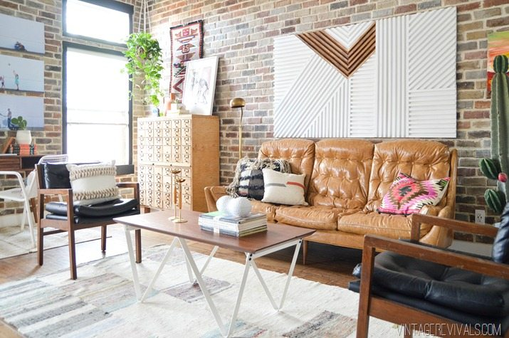 Loft Living Room Makeover vintagerevivals.com-12