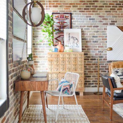 Grouting Brick Veneer Vintage Revivals - Distressed brick wall tiles