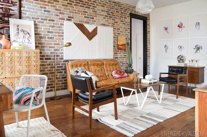 Loft Living Room Makeover vintagerevivals.com-19 copy