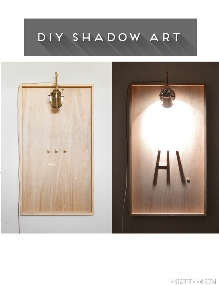 Shadow Art DIY vintagerevivals