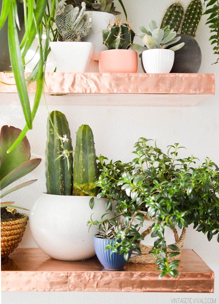 DIY Copper Floating Shelves-10