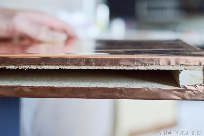 Anthro Inspired Diy Copper Shelves Vintage Revivals