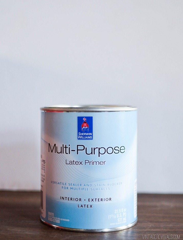 Thin Latex Paint To Use As Primer