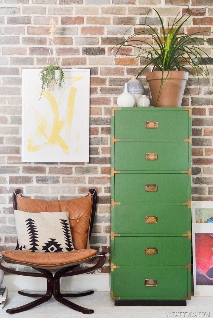 How To Paint A Laminate Dresser Vintage Revivals