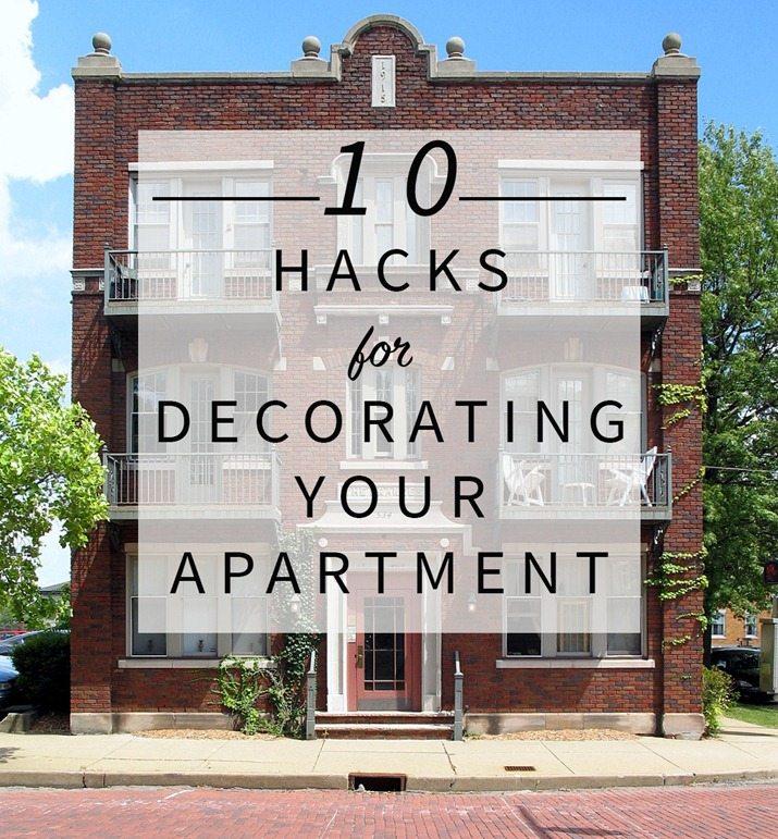 Rent Com Houses: 10 Hacks For Decorating Your Apartment • Vintage Revivals