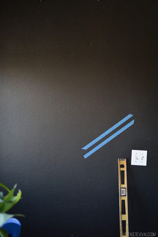 Black and White Geo Wall-3
