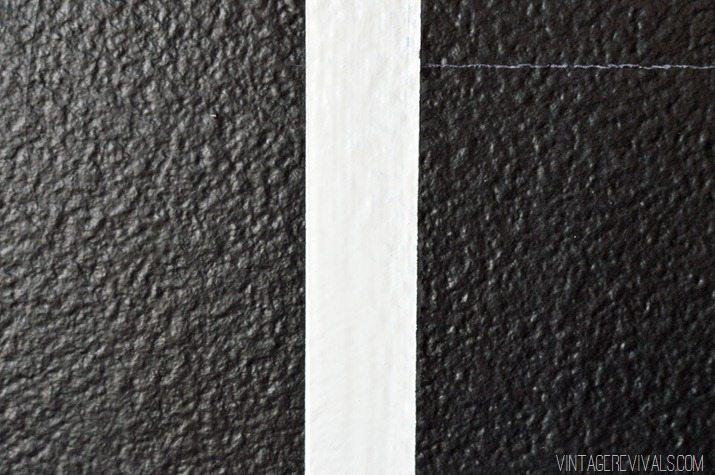 Black and White Geo Wall-34
