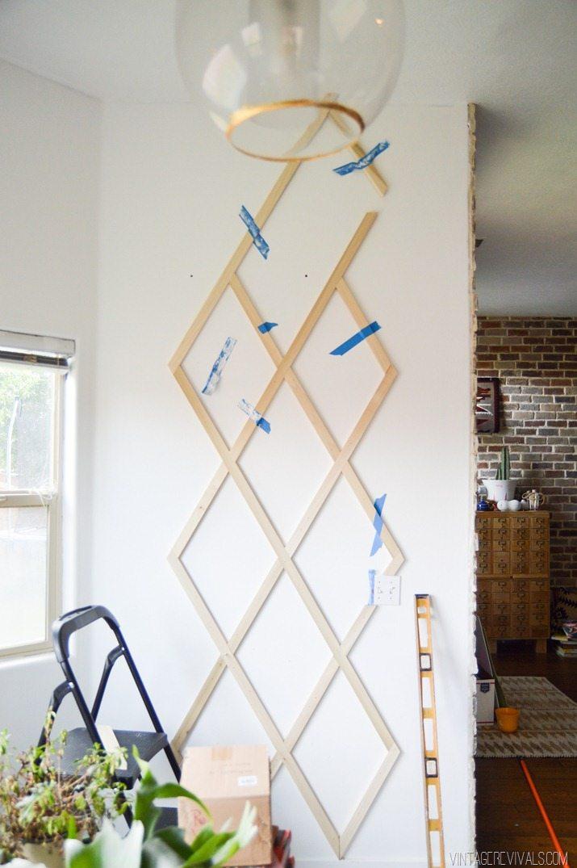 Indoor Plant Trellis Wall-8