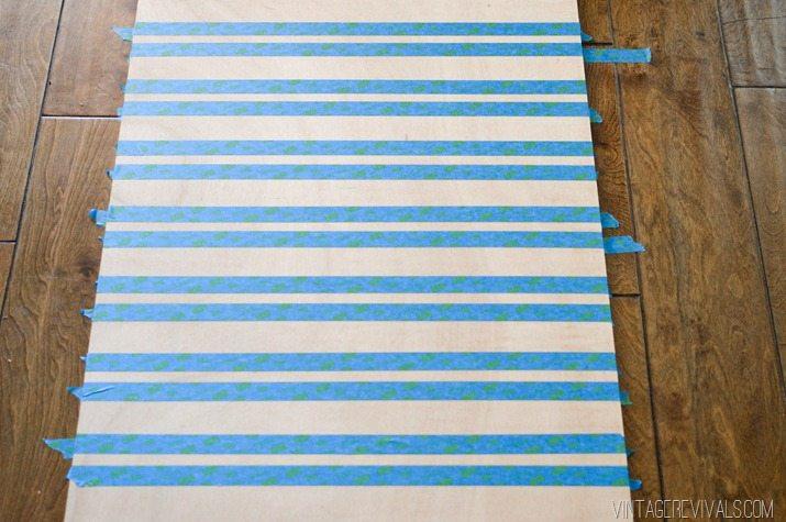 Ideal Striped Ripple Wall Art