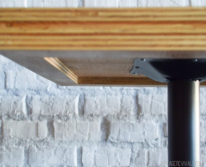DIY Stacked Plywood Tabletop_ 4