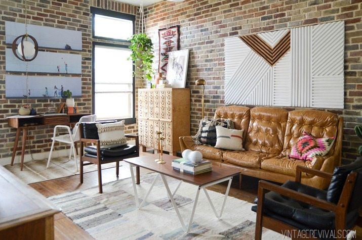 Loft Living Room Makeover vintagerevivals.com-8-2