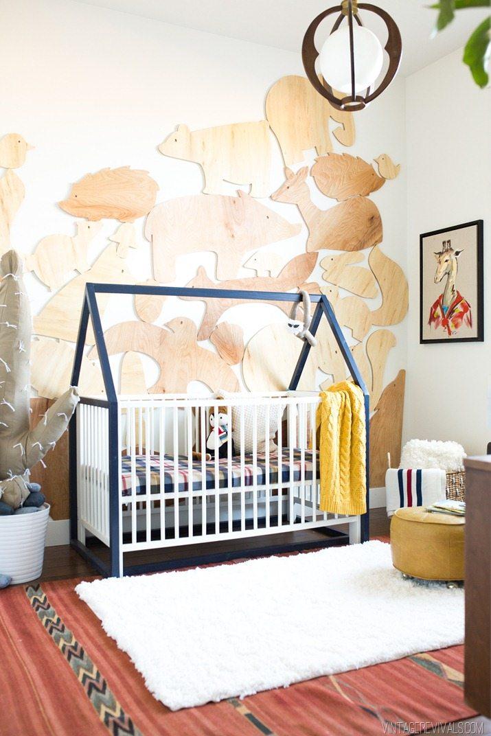 Baby Boy Nursery Reveal Vintage Revivals - Diy baby boy nursery ideas