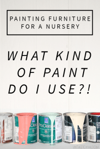 Painting Furniture For A Baby Nursery Is It Safe To Paint A