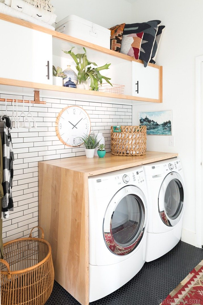 Laundry Room Makeover: Reveal • Vintage Revivals