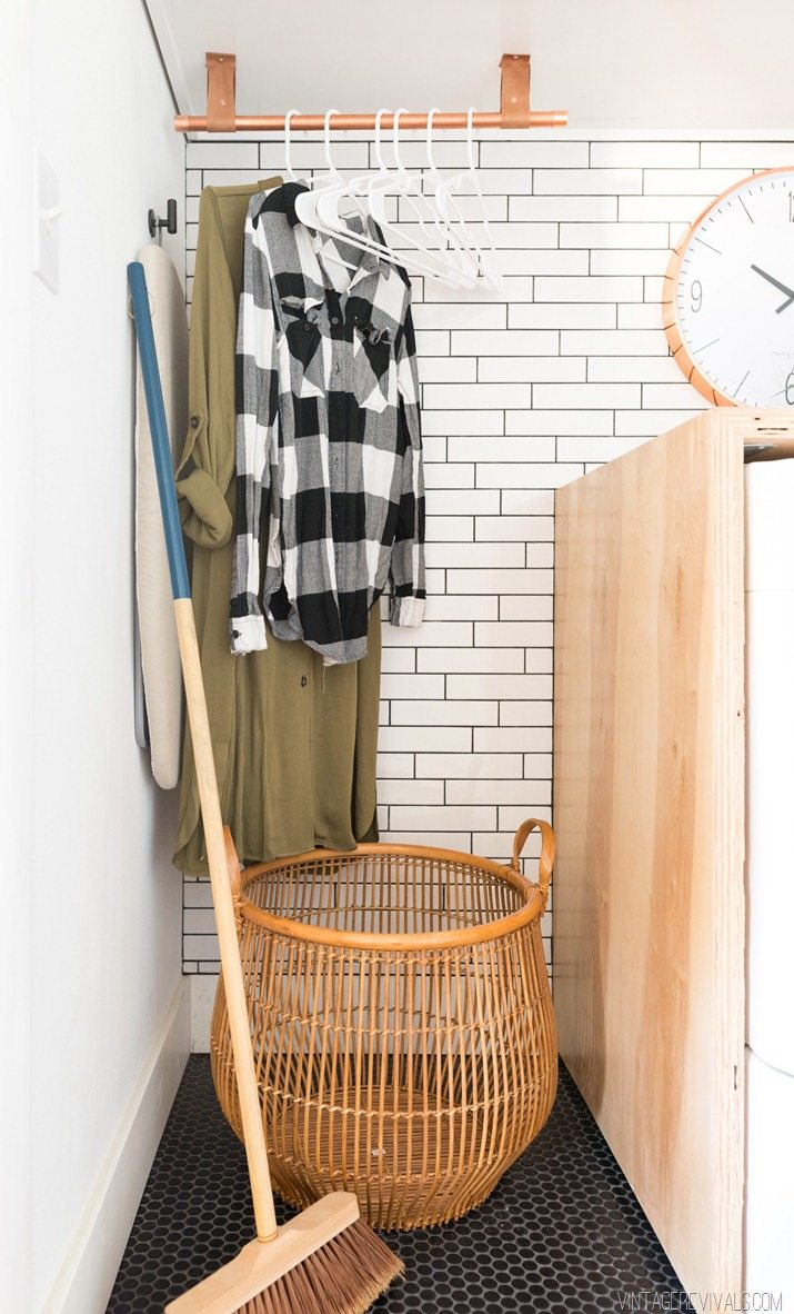 Laundry Room Makeover: Reveal - Vintage Revivals