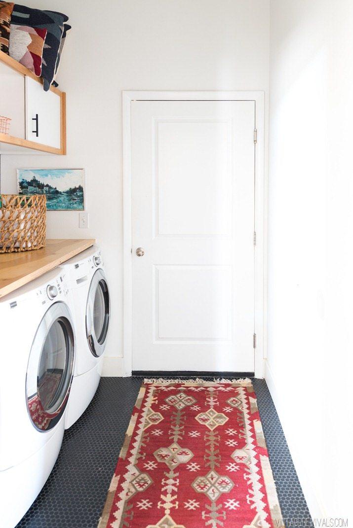 Laundry Room Makeover  Vintage Revivals-6
