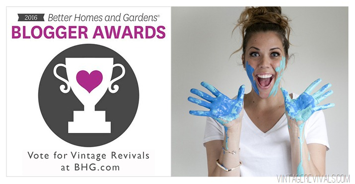 BHG Blogger of the Year Vintage Revivals
