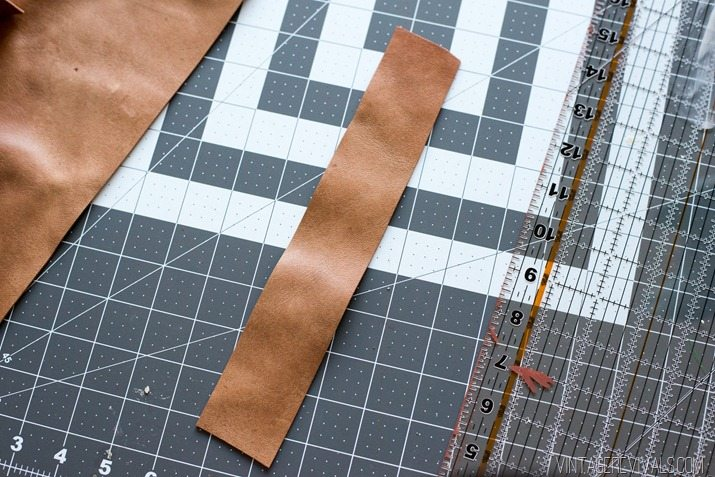 DIY Copper and Leather Clothing Rack-2