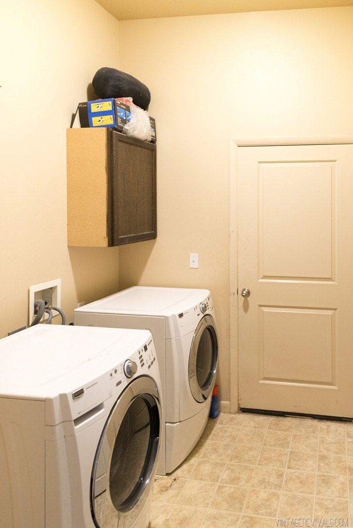 Moving Water Lines In The Laundry Room Vintage Revivals