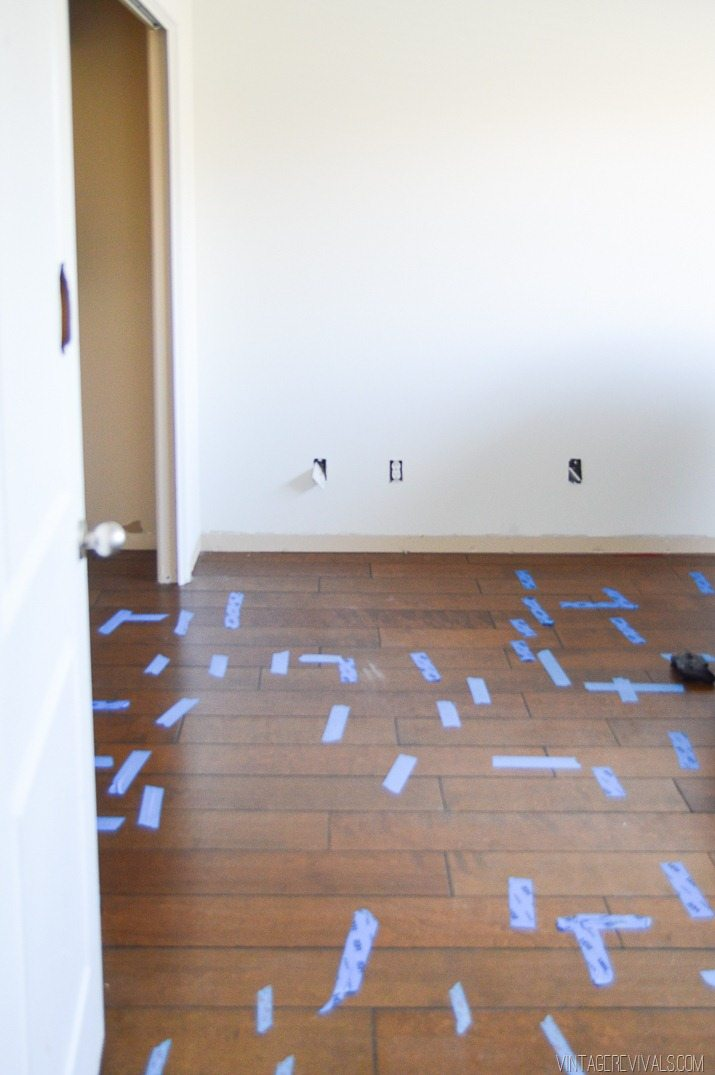 Cutting a new groove in hardwood flooring-11