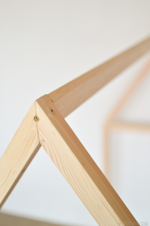 DIY House Framed IKEA Crib  Vintage Revivals-1-2