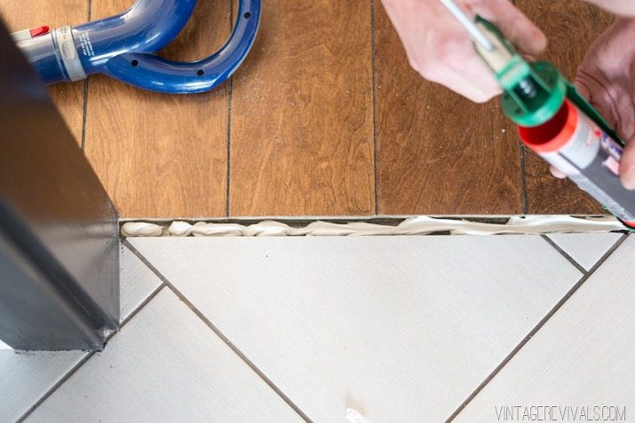 How To Make Your Own Threshold Piece for Wood Floors-4