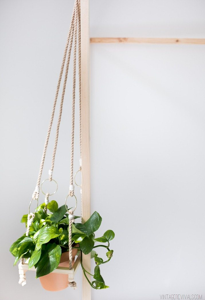 Diy Simple Boho Hanging Planter Colin Stein Web