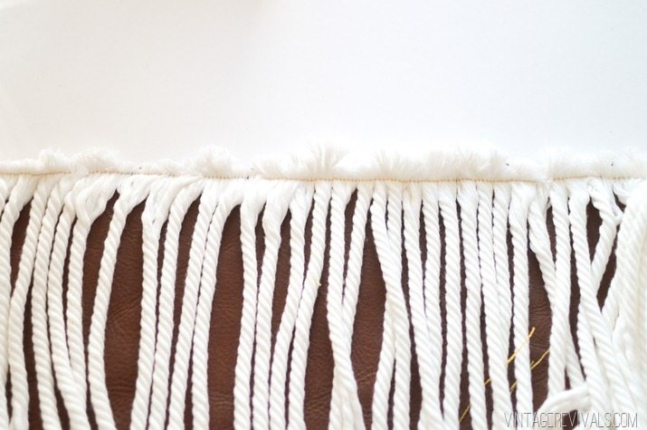 Pillowfest! DIY Rope Fringe Pillow-2