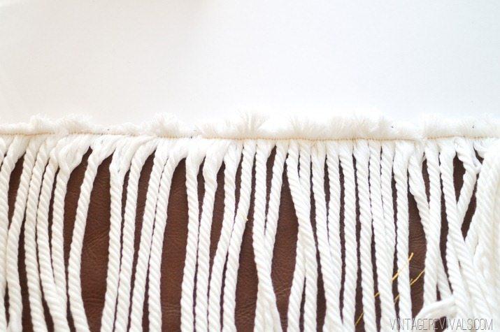Pillowfest! DIY Rope Fringe Pillow-2