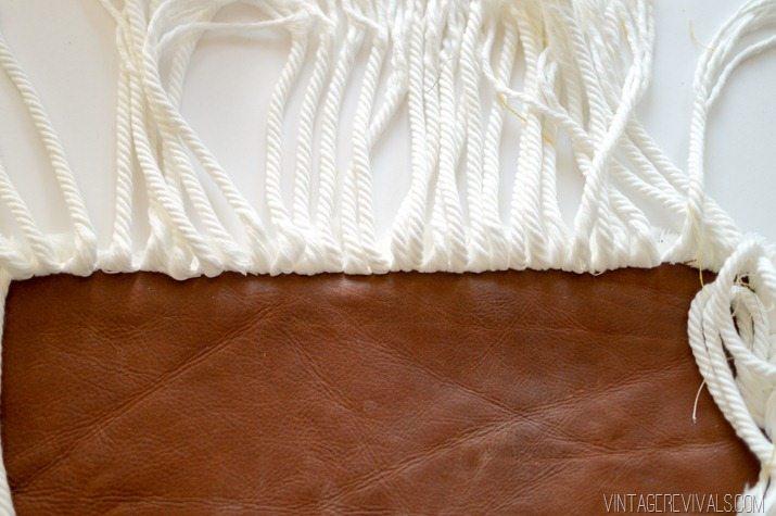 Pillowfest! DIY Rope Fringe Pillow-3