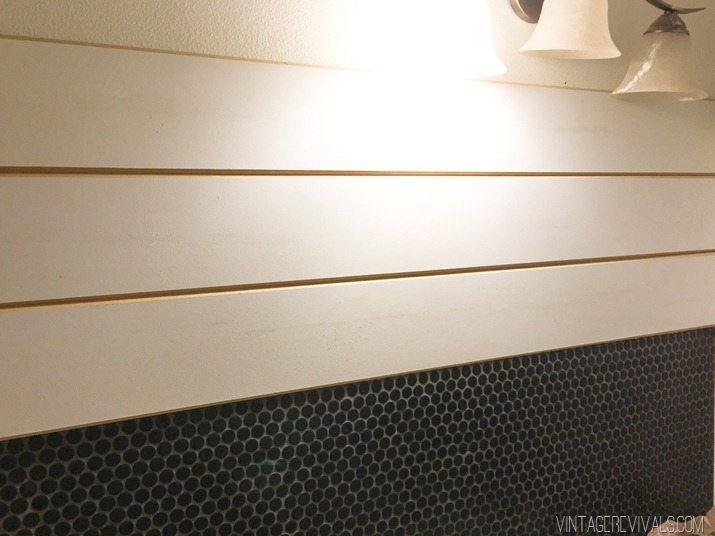 V Plank Shiplap Wall Treatment