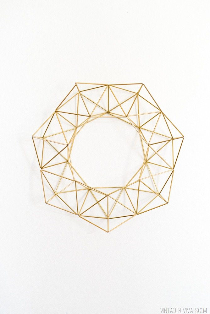 O Geometric Letter Tutorial  Vintage Revivals copy